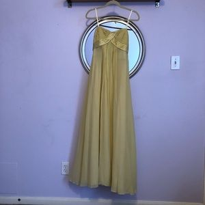 Canary Yellow Evening Gown BCBG Size 2